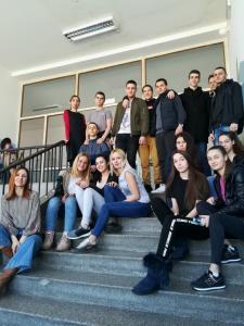 Erasmus team Serbia