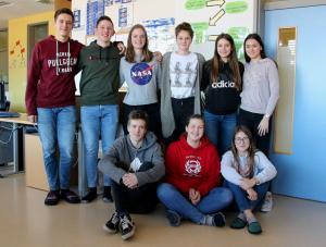 Erasmus team Slovenia