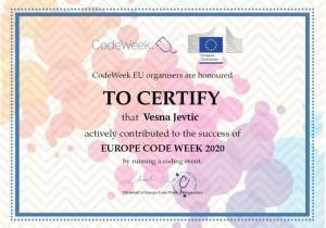 CodeWeek teacher